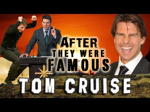 TOM CRUISE - AFTER They Were Famous