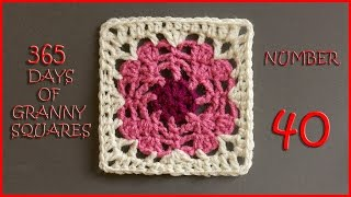 365 Days of Granny Squares Number 40