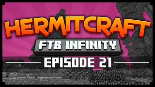 Hermitcraft FTB: DRACONIUM TINKERS TESTING! Ep. 21 (Hermitcraft FTB Infinity)