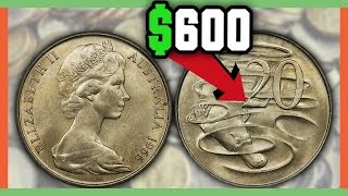 RARE AUSTRALIAN COINS WORTH MONEY - VALUABLE FOREIGN COINS TO LOOK FOR!!