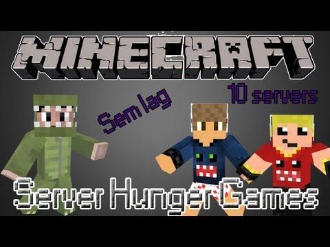 Minecraft - Server Minecraft Hunger Games [4FUNHG] - Todos kits liberados / Sem lag e sem hackers XD