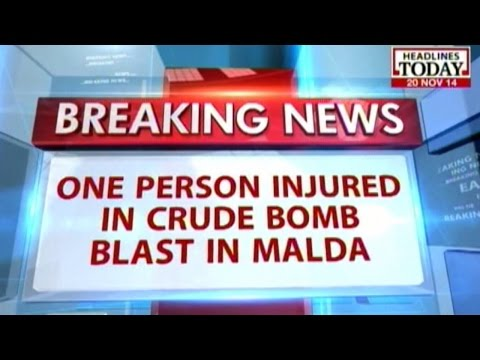 West Bengal: Crude Bomb blast in Malda explodes near bus stop