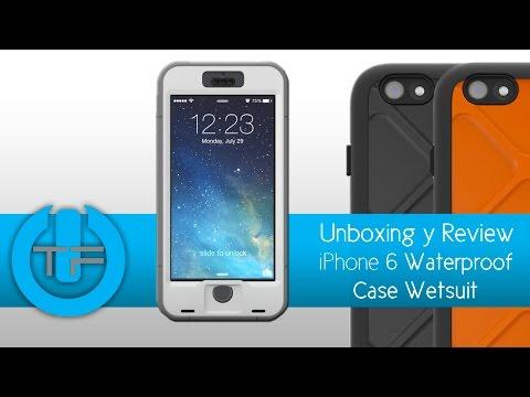 Estuche iPhone 6 resistente al agua WetSuit de Dog & Bone