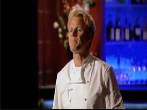 Hell's Kitchen Season 6 - Joseph offers to fight Chef Ramsay - Part One