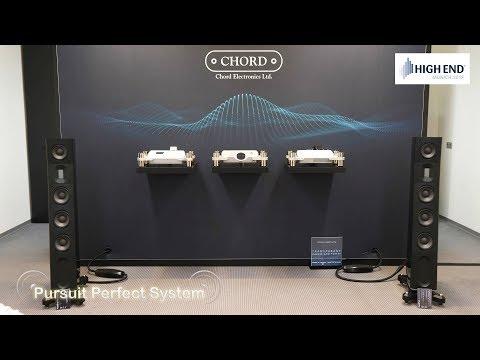 Chord Electronics Hugo TT 2 Etude Amplifier Dave Dac Raidho @ High End Munich 2018 HiFi Show thumbnail