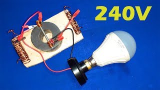 New free Energy Generator using magnet cables grate Technology Idea Project For 2019