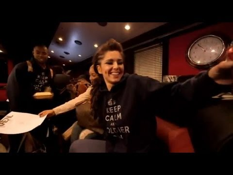 Cheryl Cole - Behind The Scenes On Tour