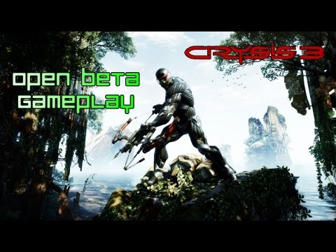 Crysis 3 - Open Beta Gameplay
