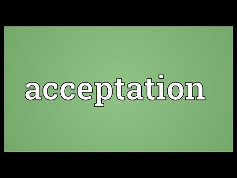 Header of acceptation