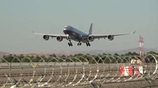VP-BMS Las Vegas Sands Corporation Airbus A340-541 at OAK