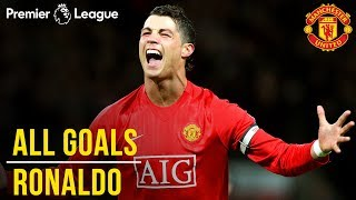 Cristiano Ronaldo | All Premier League Goals | WINNER Best Manchester United Player | 1000 PL