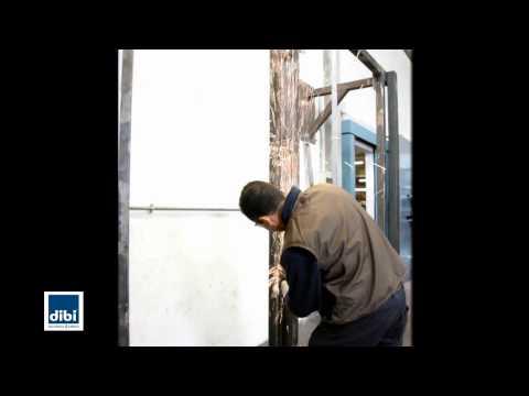 Porta d 39 ingresso blindata meccanya by di bi porte blindate - Montaggio controtelaio porta ...