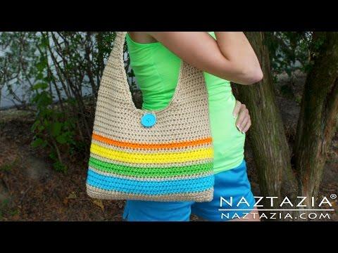 DIY Learn How to Make & Crochet Easy Beginner Tote Bag Handbag Purse Summer Pattern