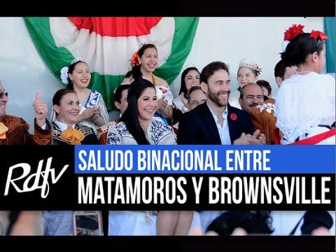 SALUDO BINACIONAL ENTRE MATAMOROS Y BROWNSVILLE