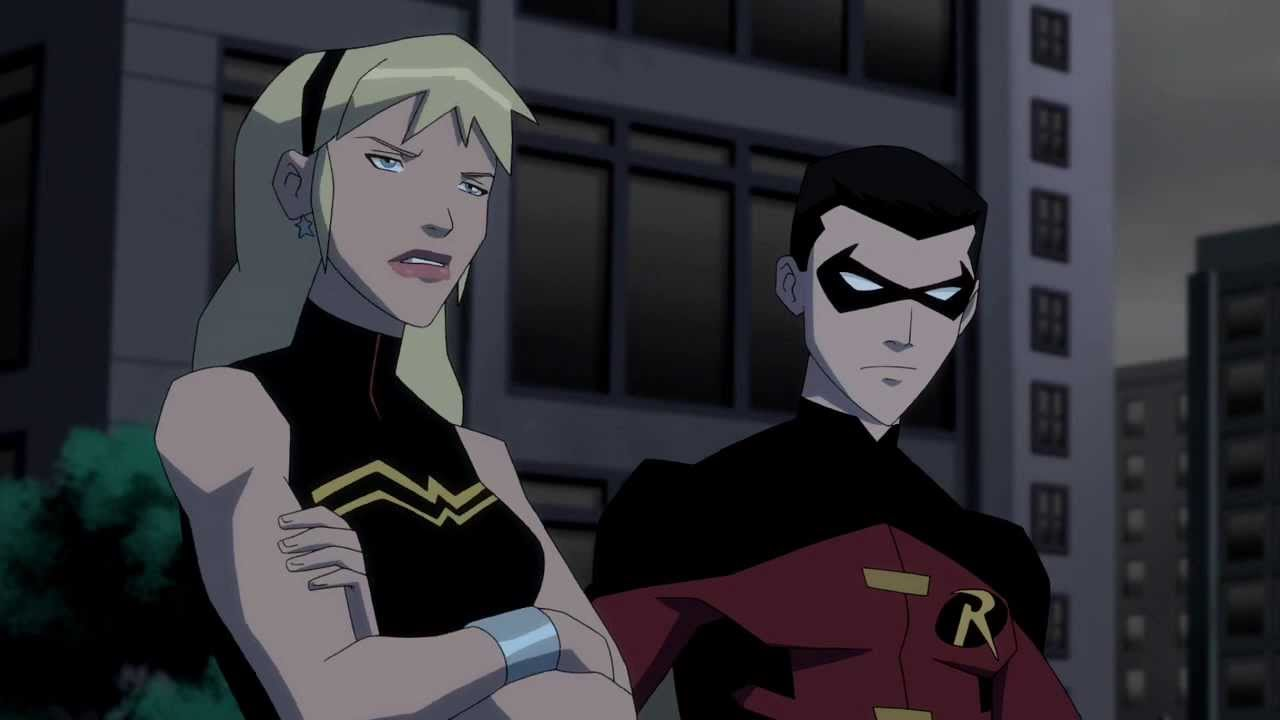 Young Justice Robin Tim Drake And Wonder Girl YJ S02E20 Robin and Wonder