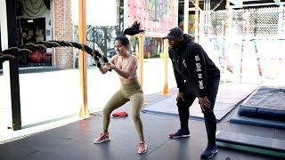 I Worked Out w/ Khloe Kardashian