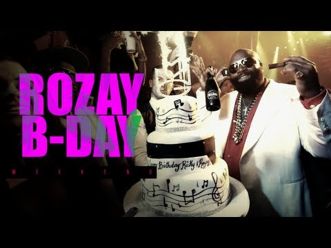 Rick Ross 2013 Birthday Weekend (Celebrates at Compound & LIV) #BoxChevy Music Videos