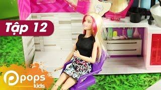 Chị Hai Bé Xíu- Tập 12 - Salon Tóc Của Barbie - Búp Bê Barbie