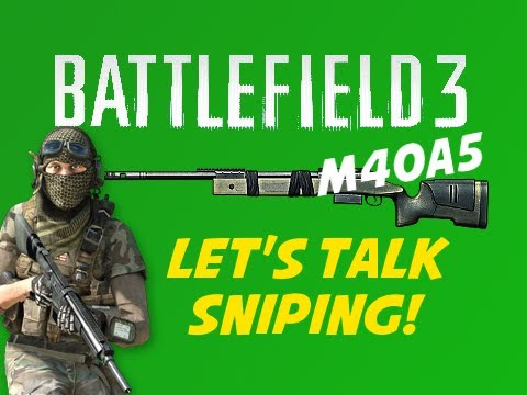 BF3: Let's Talk Sniping -- M40A5 (1080p!)