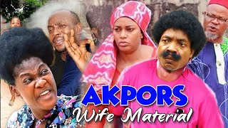 Akpors & The Wife Material Part 1&2 - Queen Nwokoye & Muonago Collins Classic Nollywood Movies