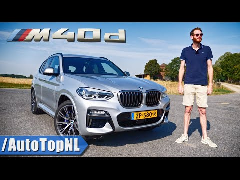 BMW X3 M40d REVIEW on AUTOBAHN (NO SPEED LIMIT) & ROAD by AutoTopNL