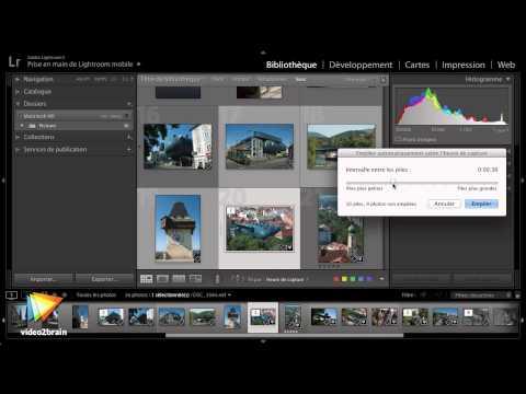 Tutoriel Migration d'Aperture vers Lightroom : Ranger par piles | video2brain.com