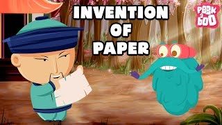 Invention Of PAPER | The Dr. Binocs Show | Best Learning Video for Kids | Fun Preschool Learning