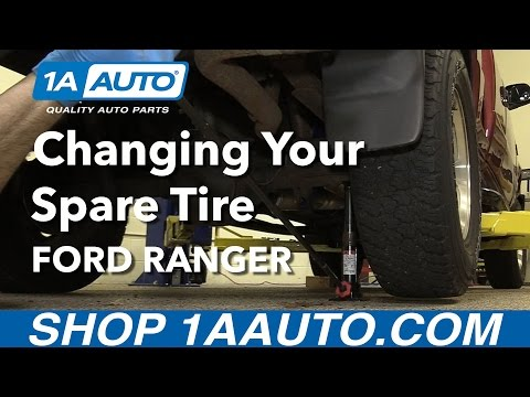 How to Change Your Spare Tire 2001 Ford Ranger