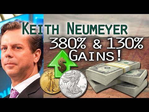 Gold/Silver Rally; These 2 Mining Stocks Up 380% & 130%! - Keith Neumeyer Interview