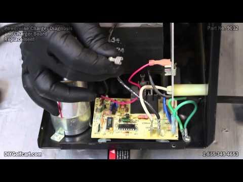 manual golf cart battery charging