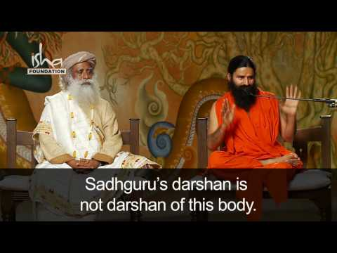 Baba Ramdev visits Isha Yoga Center - Part 3