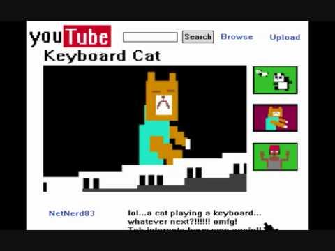 Como sería YouTube en 8 bits
