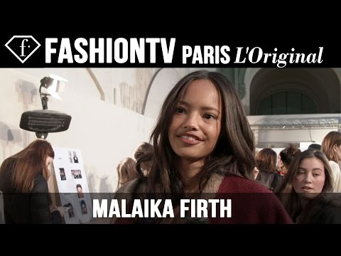 Malaika Firth: My Look Today | Model Talk | Fashiontv video