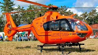 AMAZING RC EC-135 T2I ZSH  LUFTRETTUNG ELECTRIC SCALE MODEL HELICOPTER FLIGHT DEMONSTRATION