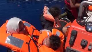 Migrants have been rescued