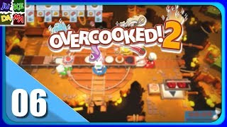 Overcooked 2 Multiplayer EP6- We Are The Burger Kings! (Switch / 4 Player)