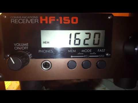 Radio Barones 1620 kHz (January 20, 2016)