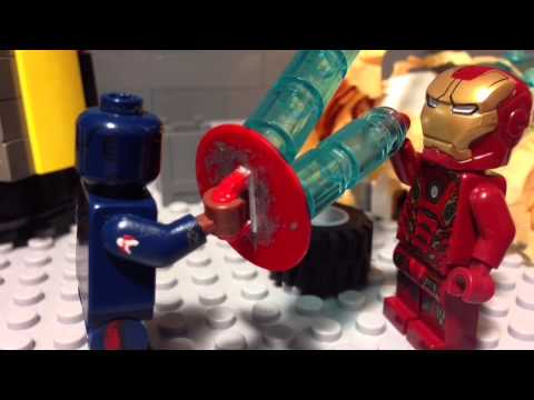 Lego Captain America: Civil war stop motion animation re-uploaded