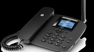 MY NEW  MOTOROLA FW200L FIXED WIRELESS TELEPHONE UNBOXING AND INFORMATION