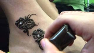 Rose Henna Design