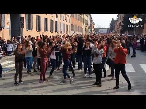 Flash mob liceo Cairoli