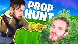 Fortnite Prop Hunt Pewdiepie HACKED My Game! (Epic Update)