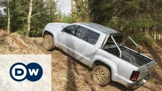 Going off-road with VWs Amarok and Caddy | DW English