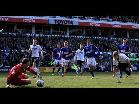 Derby County 0-1 Ipswich Town - 2012/13 - BBC Radio Derby Highlights