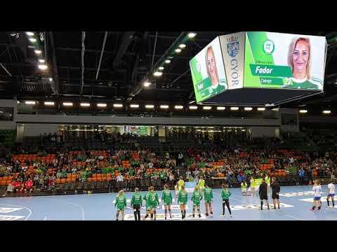 Győri AUDI ETO KC - MTK mérkőzés elötti felvezető műsor 2019/20