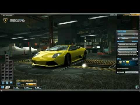 Need For Speed World Lamborghini Murcielago LP640 IGC (23 January Update)
