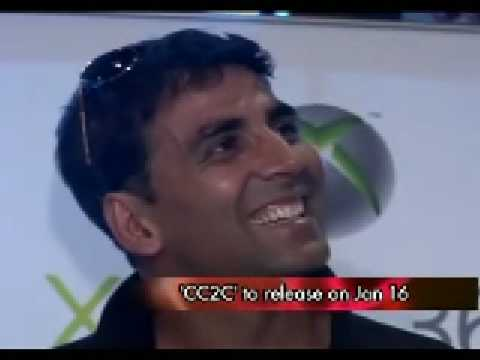 Akshay Kumar going around the world for CC2C Premiere