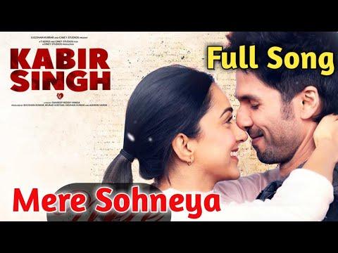 Download Lagu  Mere Sohneya|Sachet Tandon|Parampara Thakur|Shahid Kapoor|Kabir Singh|Mere Sohneya Full Song| Mp3 Free
