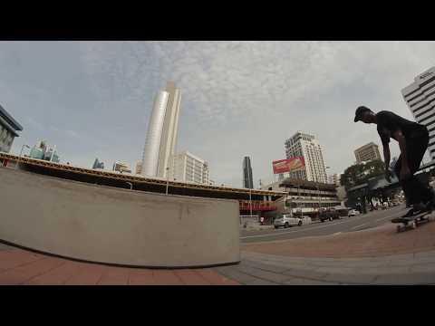 Skateboarding Panama