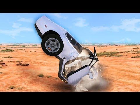 SENSELESS DESTRUCTION OF CARS! (BeamNG Drive)